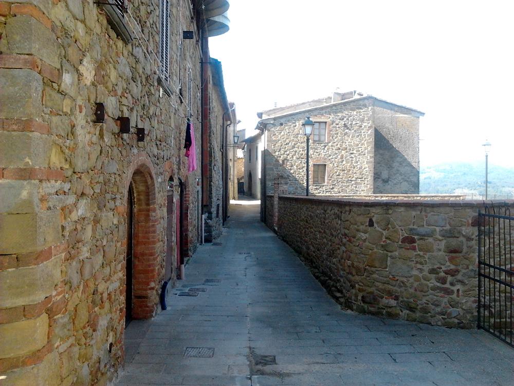 Le antiche mura interne